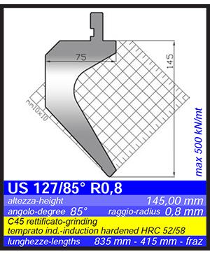 GIMEC US 127/85st R0,8